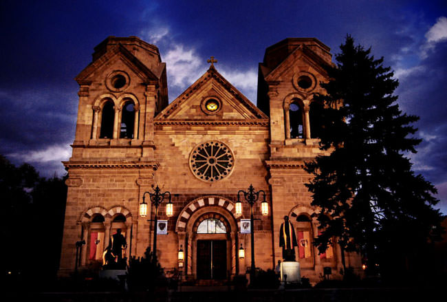 Cathedral Basilica of St. Francis of Assisi new mexico