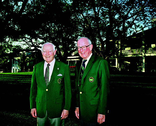 Will Nicholson and Jack Vickers at The Masters