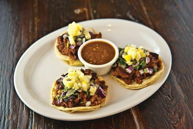 Tacos at Adelita's