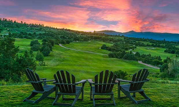 Summer at Red Sky Golf Club in Vail