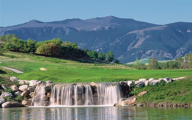 Water fall at the Powder Horn