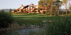 The clubhouse at the Powder Horn