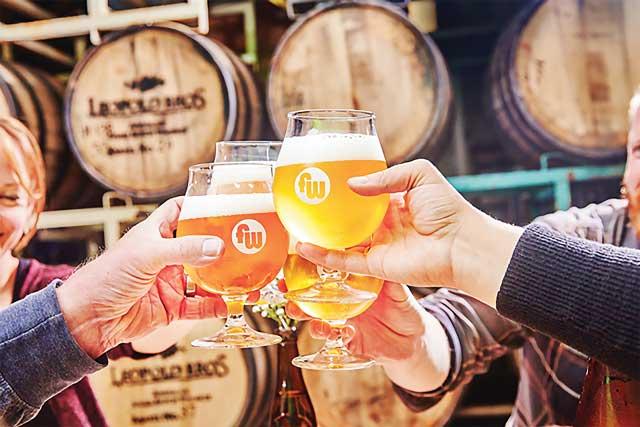 Funkwerks beer in Fort Collins