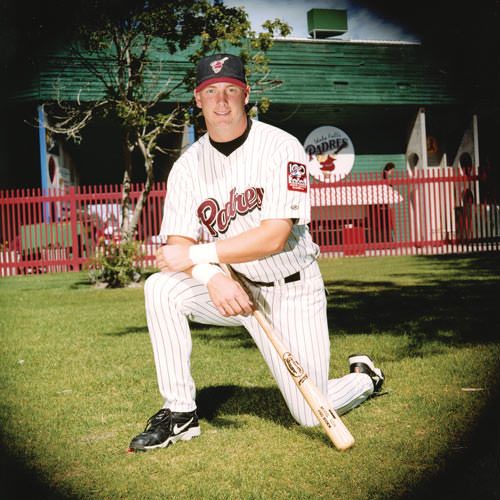 Joel Klatt as an 18-year-old minor leaguer for the Padres