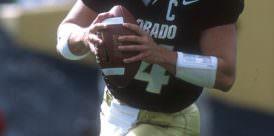 Joel Klatt played quarterback for CU for three years