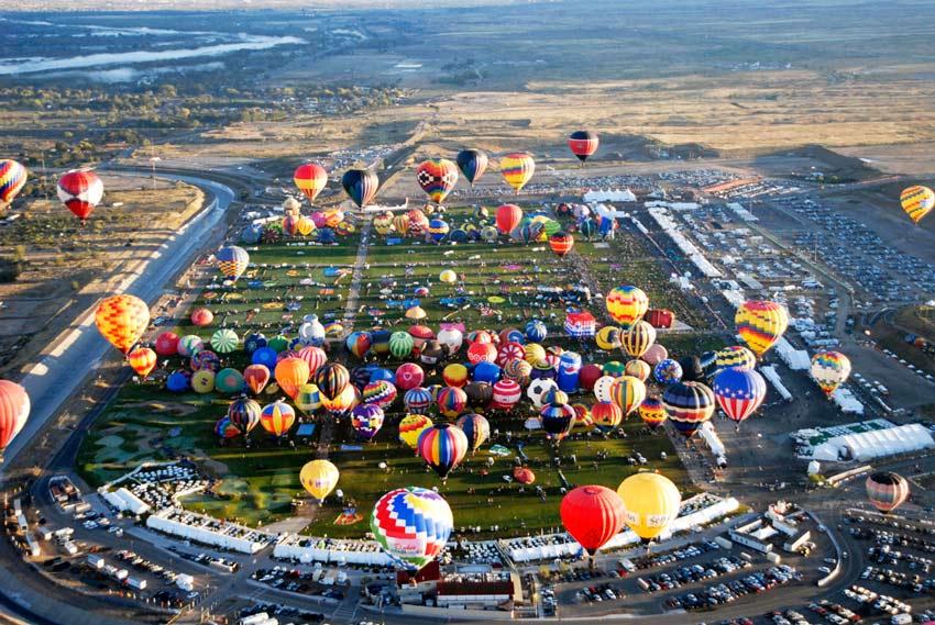 New Mexico Fall Hot Air Balloon festival