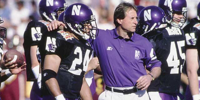 Gary Barnett at Northwestern