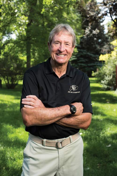 Former Northwestern and CU football coach Gary Barnett