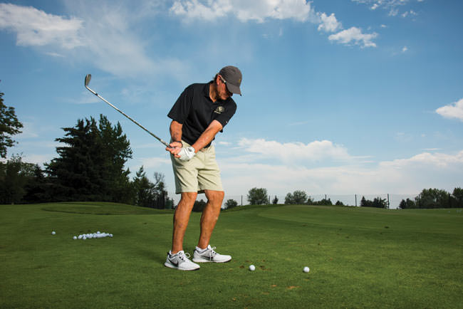 Gary Barnett golf