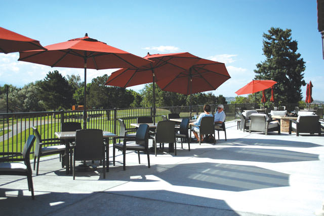 New patio at The Ranch