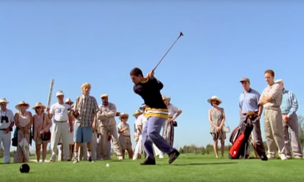 Does the Happy Gilmore swing really work?