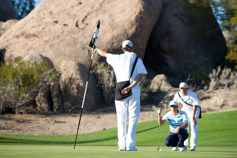 Troon Caddies will be available at Boulders Resort & Spa, The Phoenician, Troon North and Westin Kierland Resort & Spa.