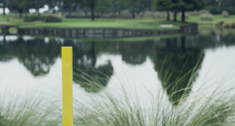 Red and Yellow Stakes, Water Hazard Rules