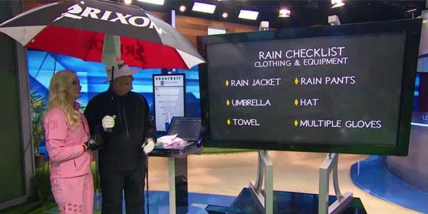 Rain Golf Tips