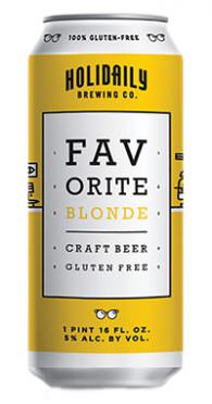 holidaily gluten free brewery blonde