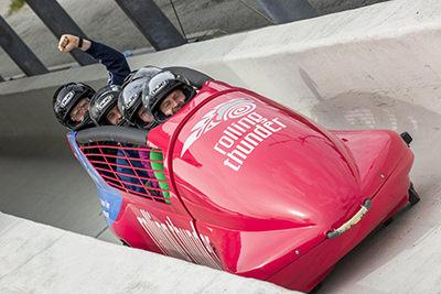 Whistler bobsleigh Canada