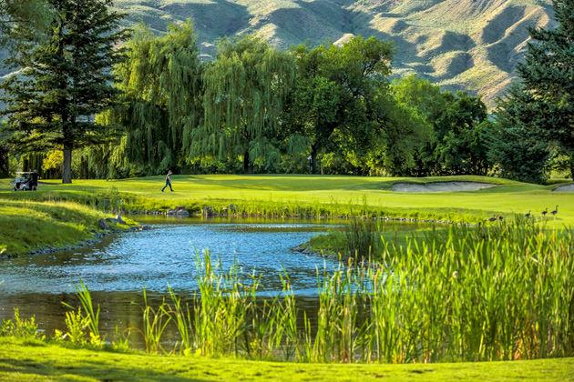 Kamloops Golf & Country Club Tourism Kamloops/Tyler Meade