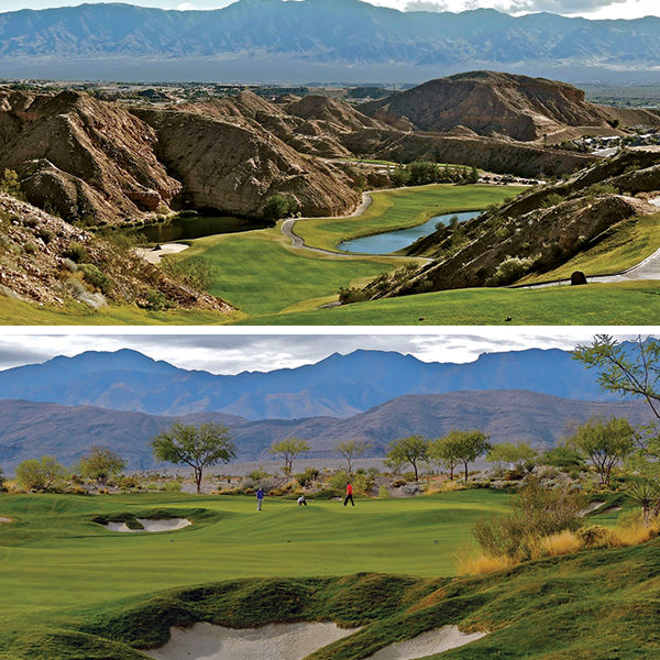 Mesquite's Falcon Ridge and Coyote Springs