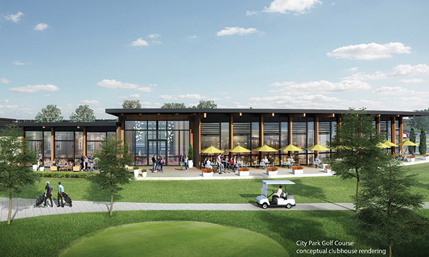 city park clubhouse rendering