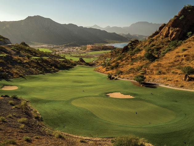View of Danzante Bay's 16th hole.
