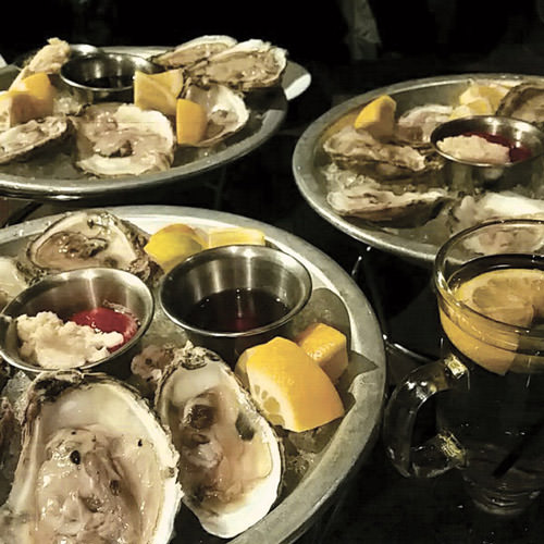 Blackbird's Fresh Shucked Oysters