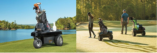 Club Car's new Tempo Walk comes with on-course GPS yardage, carries bags, coolers and other accessories, and allows you to walk without pulling or pushing a cart or lugging a bag.