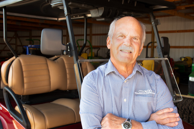 Tom Bauerle, president and CEO of Colorado Golf & Turf