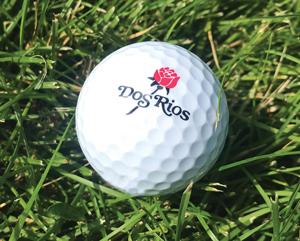 Logo Golf Ball at Dos Rios Golf Club