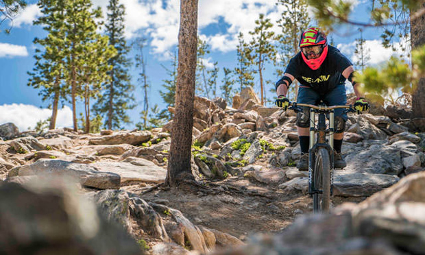 colorado golf - mountain biking