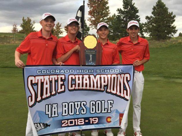 Montrose High School 4A Champions