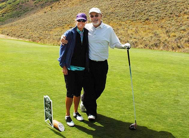 Mark and Lynn Cramer of the Denver Golf Expo.
