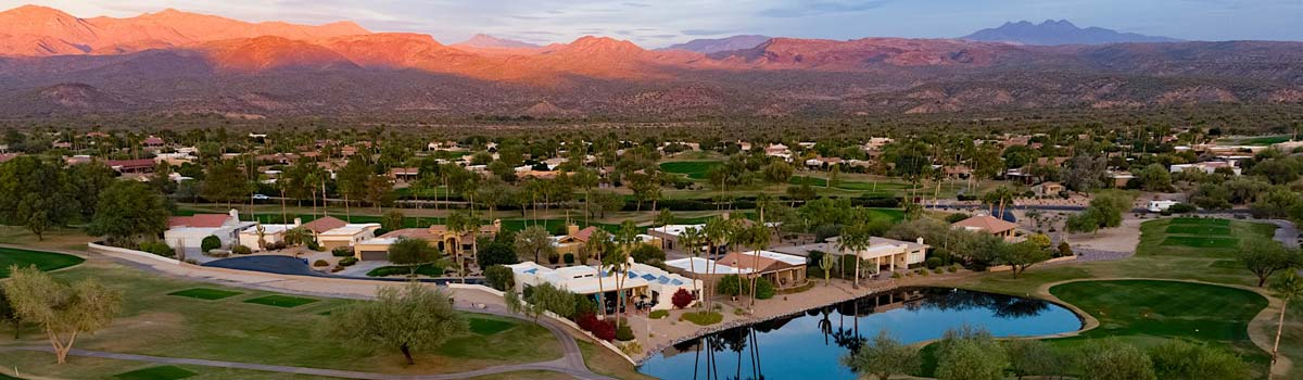 Rio Verde Country Club aerial shot