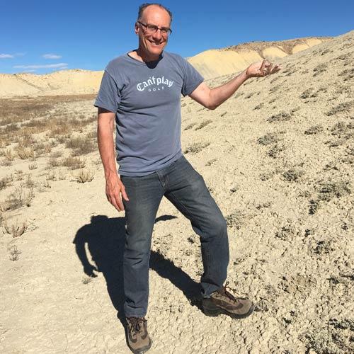 Jon Rizzi in Desert