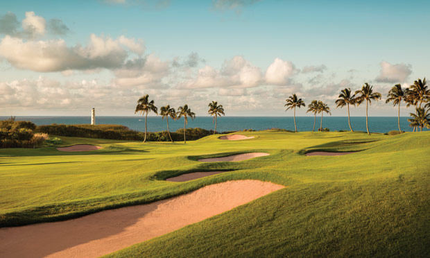 Ocean Course at Hokuala, Kaua'i, Hawai'i