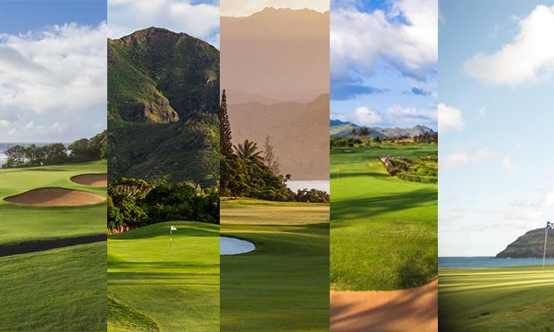 2019 Kaua'i Golf Trail Courses