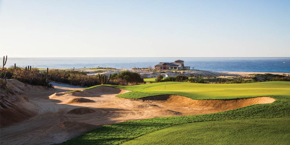 Quivira's well-guarded par-4 17th