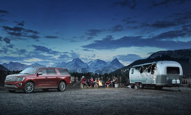 2019 Ford Expedition Platinum and Camper