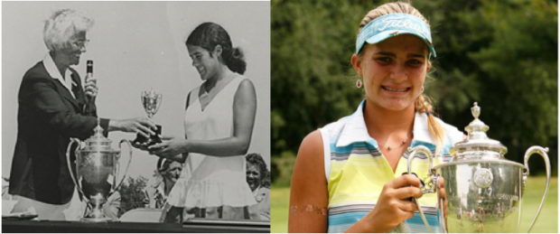 Previous U.S. Girls' Junior champs include Nancy Lopez in 1972 and Lexi Thompson in 2008.