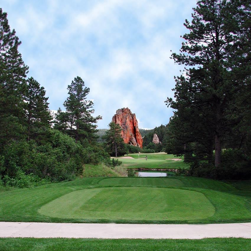 Perry Park Country Club, Par 3