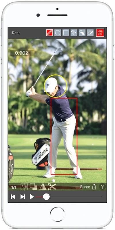 V1 One Swing Analysis