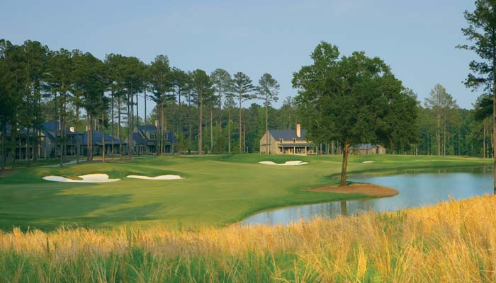 Creek Nine, No. 9 - Champions Retreat Golf Club
