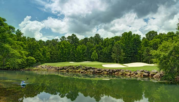 Island Nine, No. 8 - Champions Retreat Golf Club