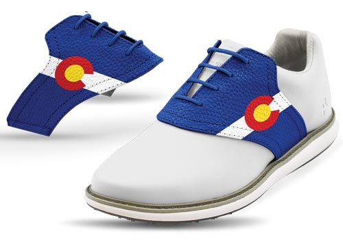 Jack and Grace Colorado Golf Shoe