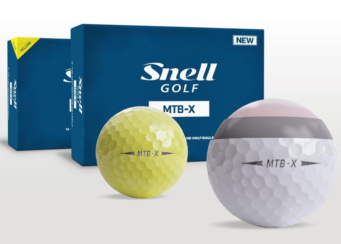 New Snell Golf MTB-X Golf Balls