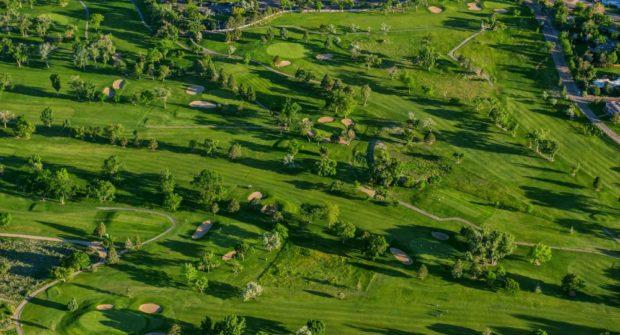 Pueblo Country Club Aerial