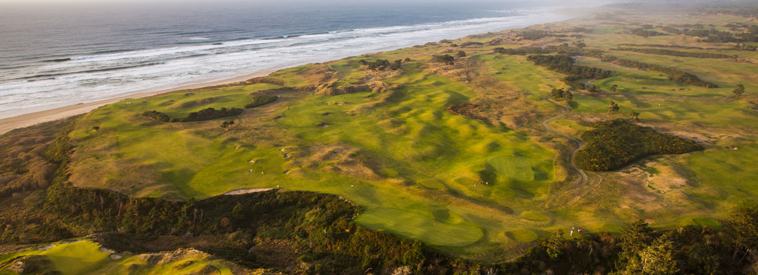 Bandon Dunes Golf Resort Coast Line