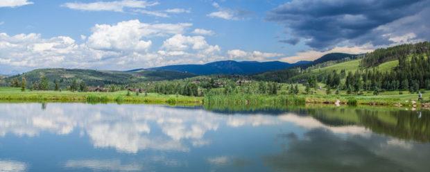 Pond at The Club at Cordillera