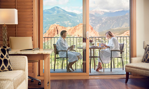 Hotel Room at Garden of the Gods Club - Colorado Springs, Colorado