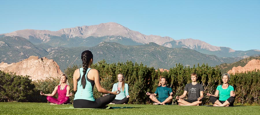 Yoga at Garden of the Gods Club - Colorado Springs, Colorado