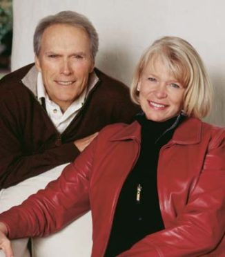 THE WAY THEY WORE: Haley and Tehama business partner Clint Eastwood